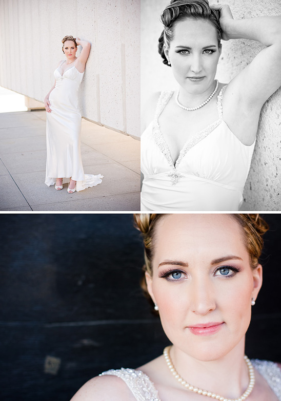 Lizz's vintage inspired downtown Dallas bridal session!