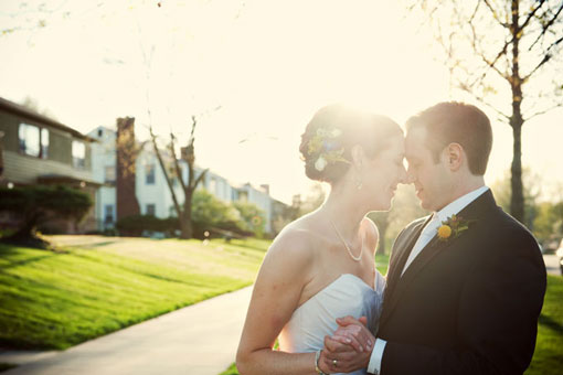 Katie and Jake's spring wedding :: Emily Steffen Photography