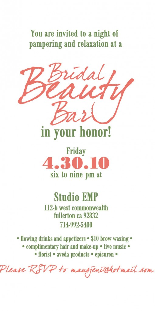Attn: Orange County Brides!!