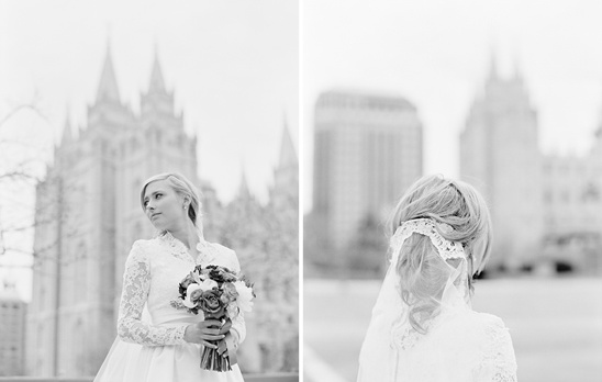 Salt Lake City LDS Wedding