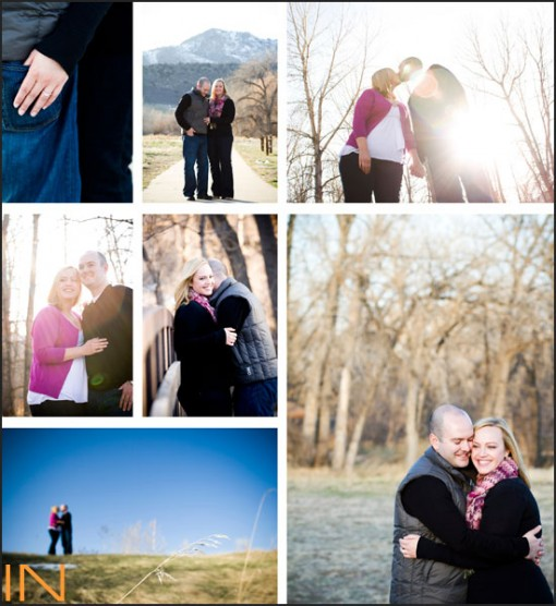 Denver, Colorado Engagement Session by IN Photography