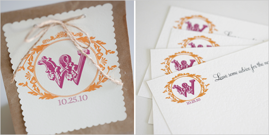 Vintage Custom Wedding Monograms