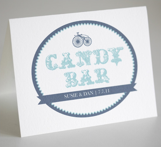 Candy Bar Free Custom Signs