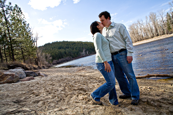 missoula engagement photo