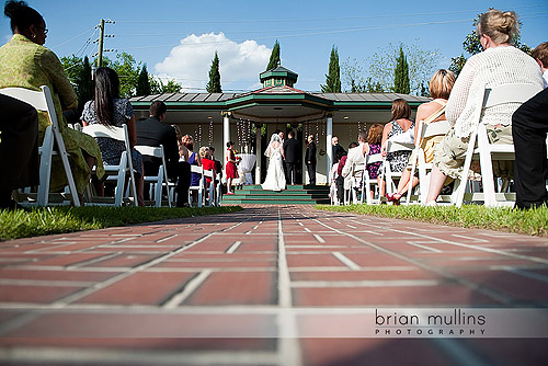Wedding at Preston Woodall House