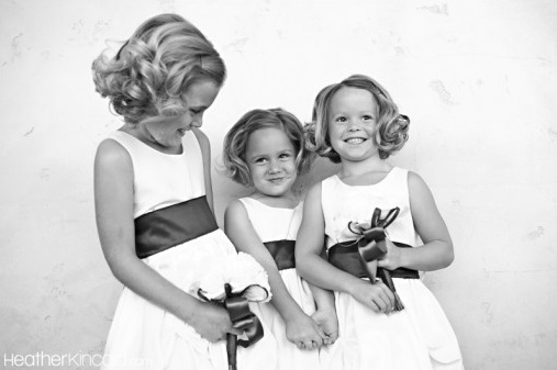 The Cutest Flower Girls... Ever. In Palm Springs.