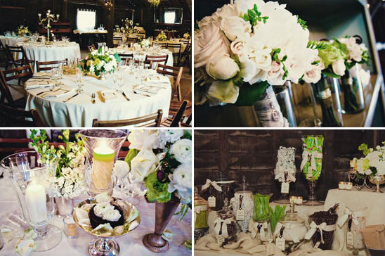 Santa Barbara Shabby Chic Wedding