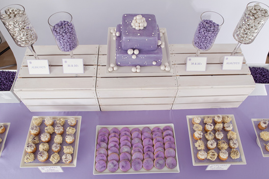 Purple Dessert Table Ideas