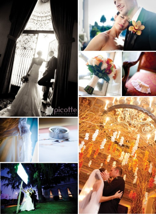 an ebell wedding . picotte photography