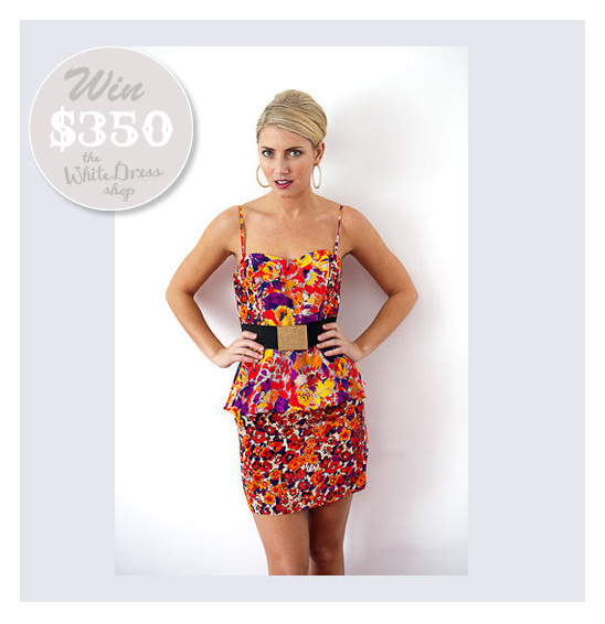Win $350 To The Little White Dress