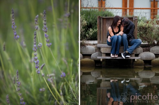 a fun and intimate venice engagement . picotte photography