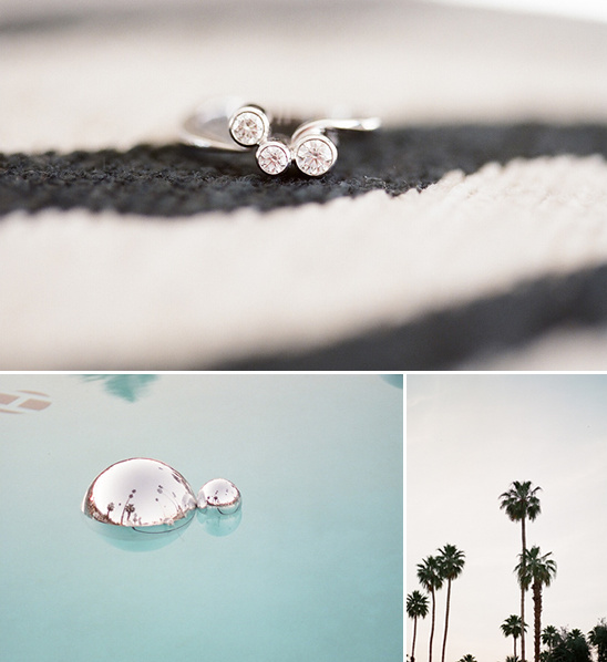 Modern Palm Springs Wedding