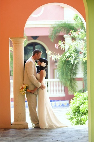 Laura and Brian, love in Jamaica