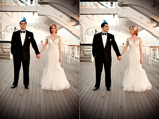 Queen Mary, Long Beach Wedding [Dave Richards Photography]