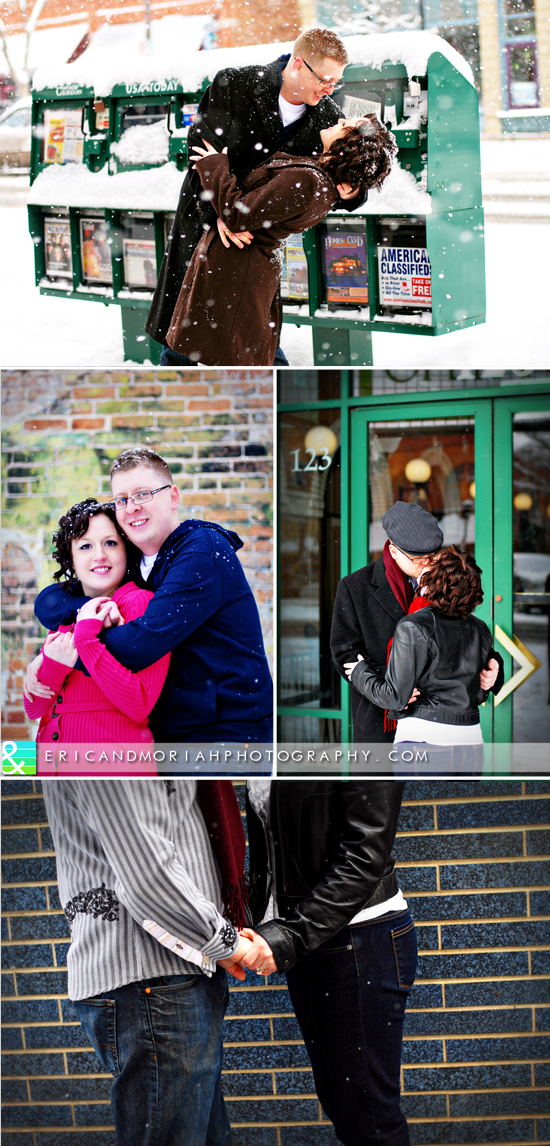 Eric & Moriah Photography | Snowy Colorado Engagement Session