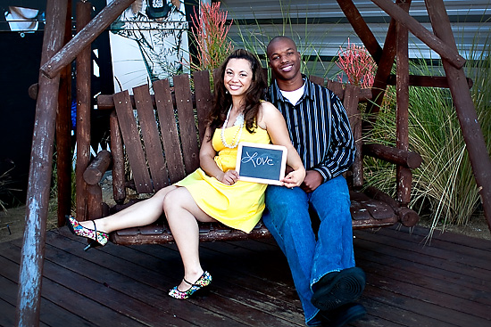A fun & colorful Engagement at The Lab by Ashleigh Taylor Photography