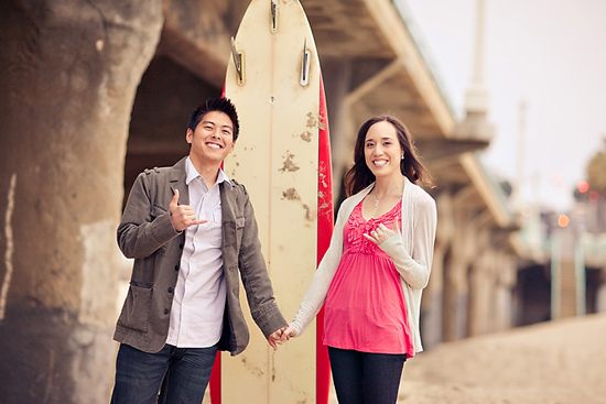 Manhattan Beach Engagement Session [Dave Richards Photography]