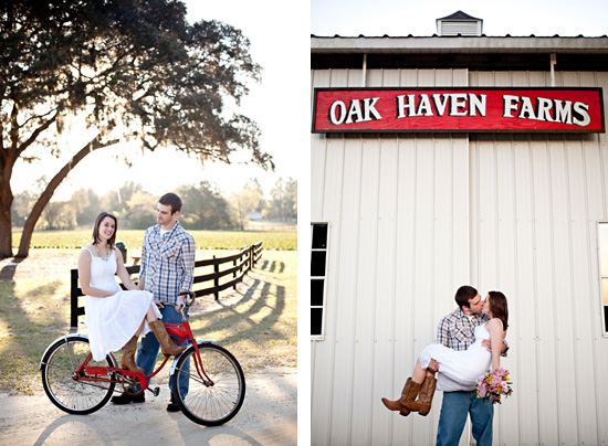 Strawberry Farm Country Charm | Styled Engagement Session