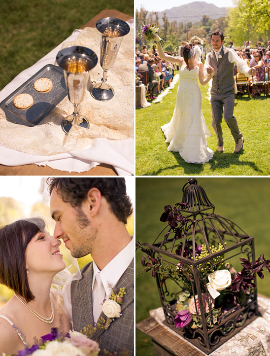 Purple Shabby Chic Wedding Ideas