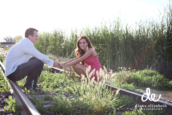 Phoenix Wedding Photographer Engagement Session by Diana Elizabeth Photography