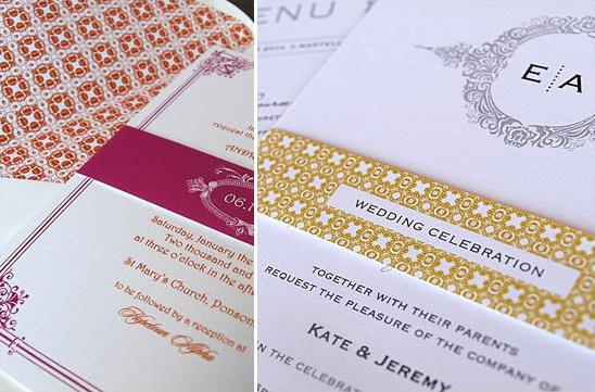 Fancy Fresh Wedding Invitations