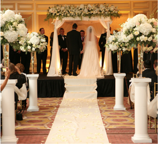 Classic Floral Designs   from Real Weddings