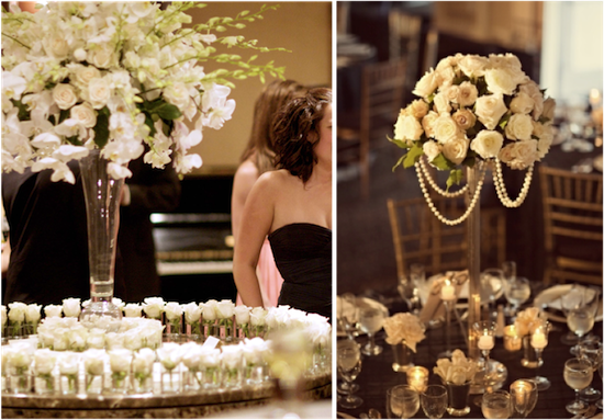 Classic Floral Designs | from Real Weddings