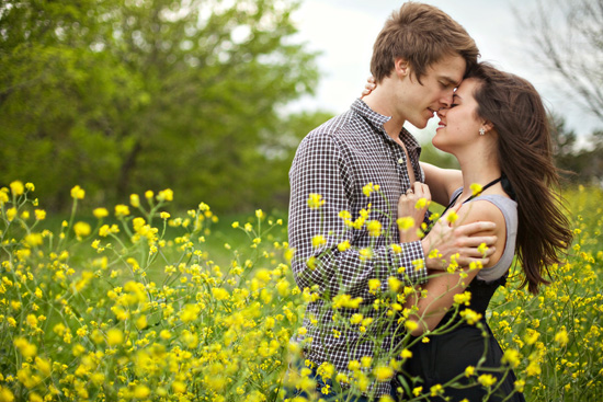 Lovely Spring Engagement - in Texas!