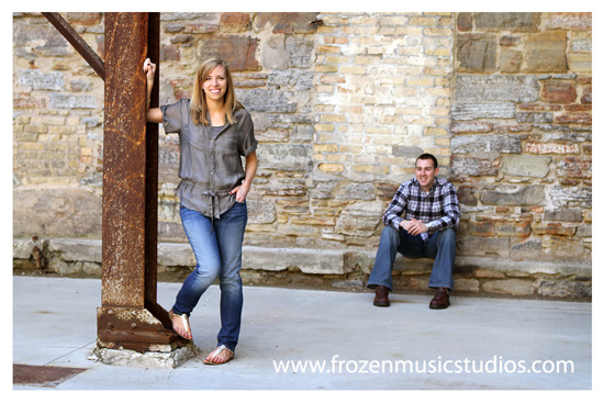 Mill City Museum Engagement Session