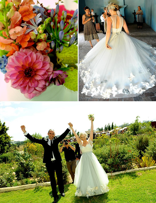 Cape Winelands Colorful Wedding