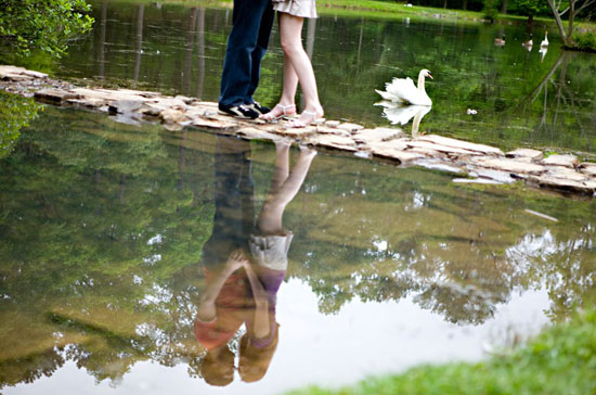 engagement photos at Berry College
