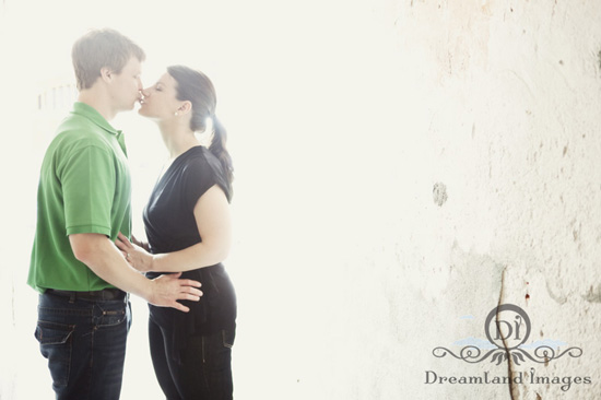 Emily + Alan. Charleston engagement session. Dreamland Images