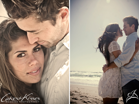 Real Engagement, Malibu by Cakes and Kisses Wedding Photography
