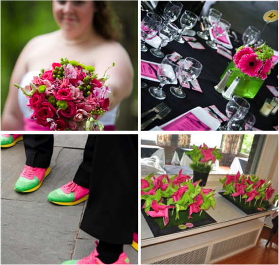 Fun and Funky Modern Wedding | Petals Floral Design
