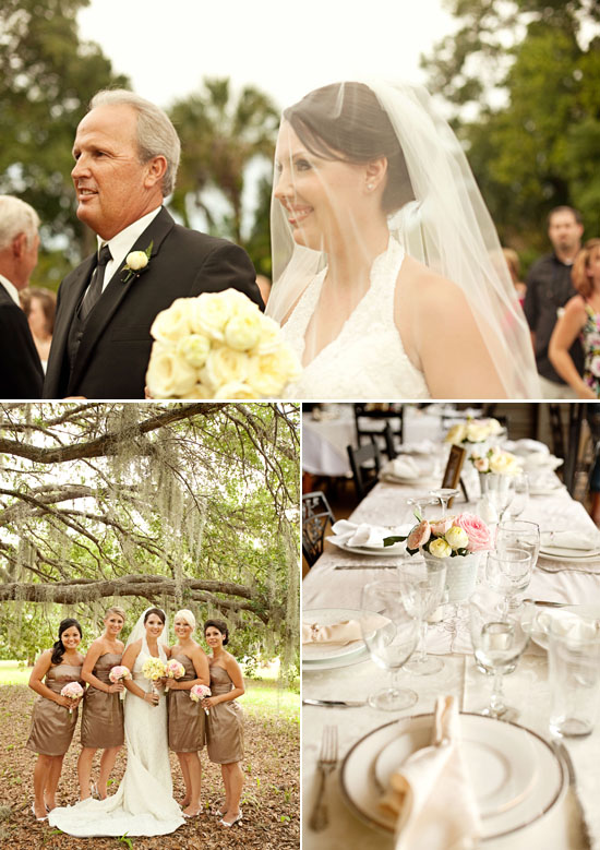 Titusville Florida Wedding:::Chic and Vintage:::Amanda and Terry