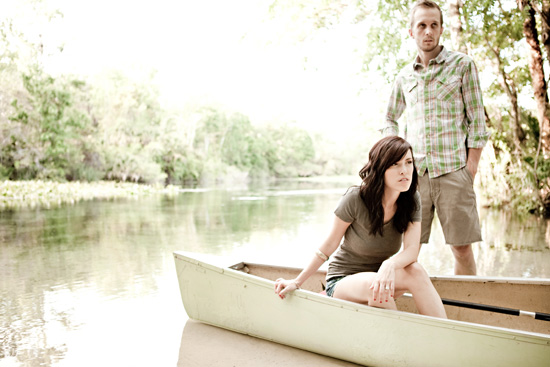 A River Engagement | Orlando Wedding Photography