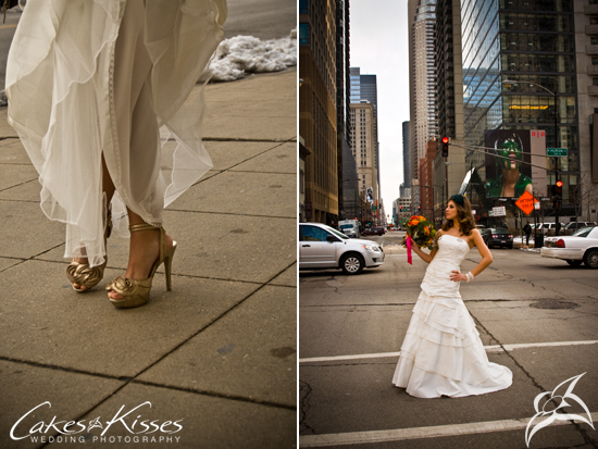 Trash the Dress, Chicago, IL by Cakes and Kisses Wedding Photography