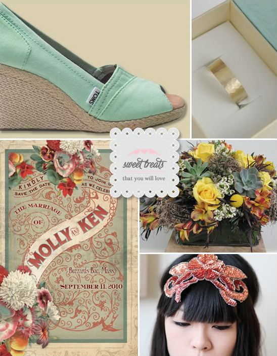 Sweet Treats + Toms Espadrille Wedding Wedges