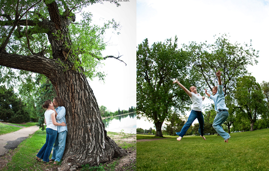 Beautiful engagement session in Denver, CO
