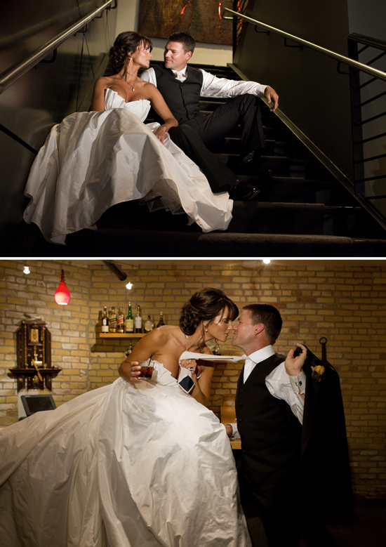 Rooftop Wedding on a Swanky Downtown Hotel | Yvonne Denault Photography