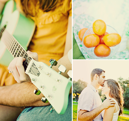 San Fransisco Minty Green Engagement Session