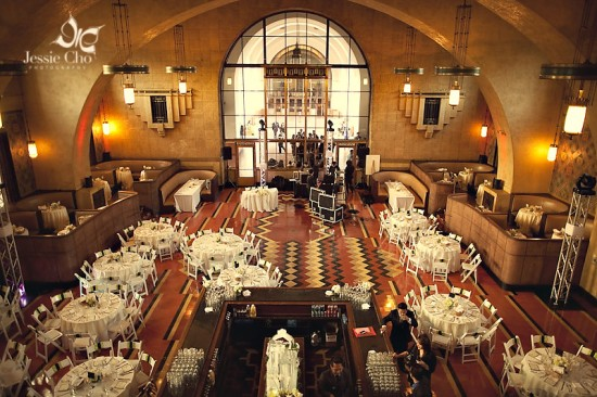 Los Angeles Union Station Wedding Reception