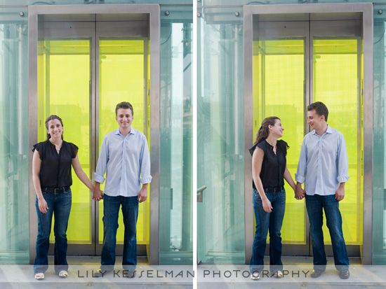 Rachel and Jay - A New York City Engagement Session by Lily Kesselman