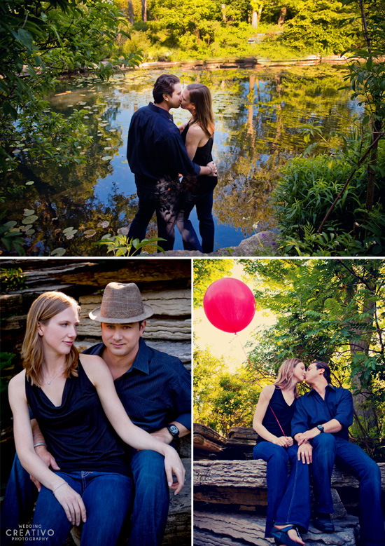 The Red Balloon Engagement Session