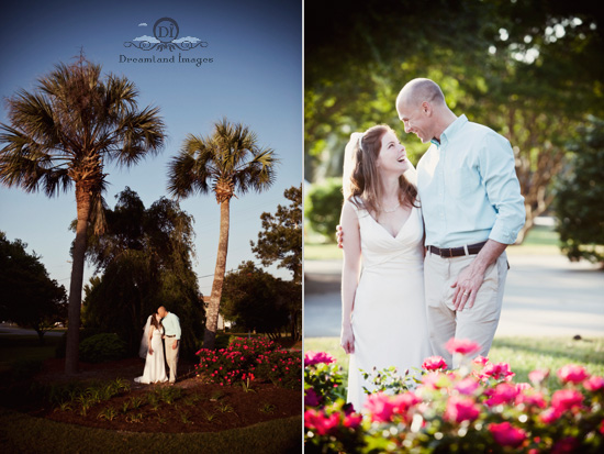Marlana + Brad ~ Pawley's Island SC ~ wedding photographer Charleston ~ Dreamland Images