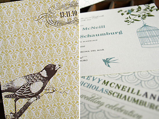 Ruby & Willow | Bird Invitations