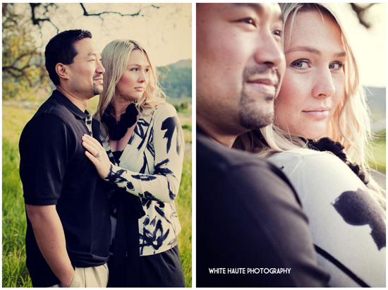 White Haute Napa Engagement Session
