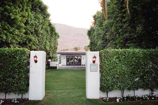 Viceroy Palm Springs Modern Wedding Venue
