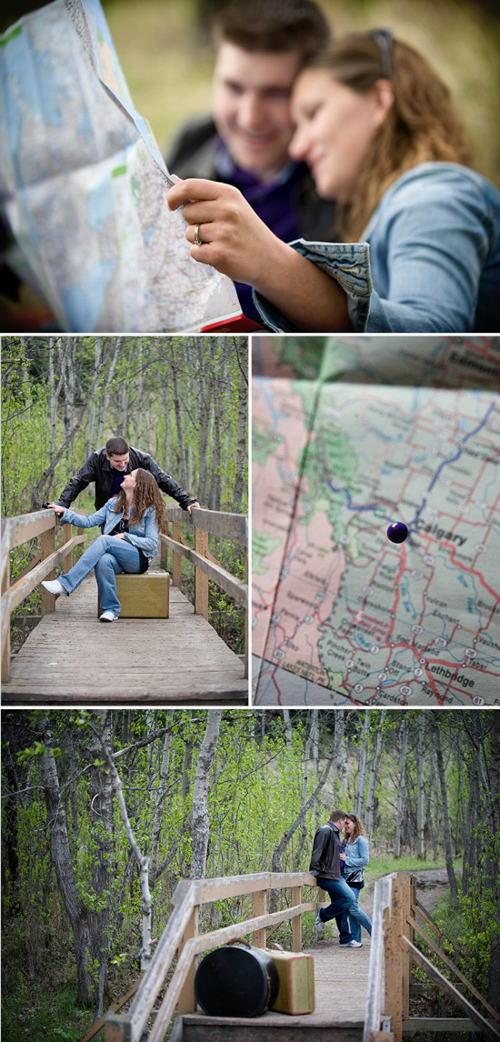 Personalized Engagement Shoot in Calgary