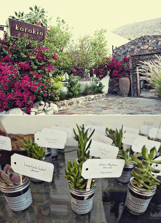 A Korakia Pensione Palm Springs Wedding